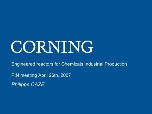 Corning | Materials Science Technology and Innovation