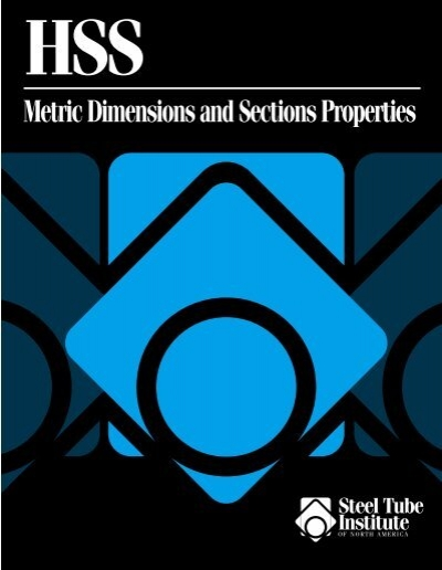 Hss metric dimensions and section properties pirate