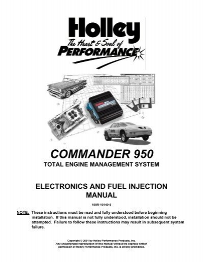 25358331 holley commander 950 efi system manual pirate4x4 com holley commander 950 wiring diagram at creativeand.co