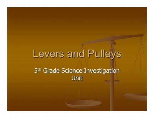 Pulleys And Levers Ks2 : All worksheets ? levers and pulleys printable