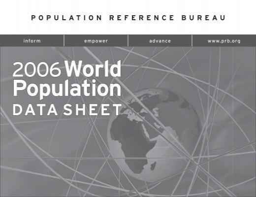 2006 World Population Data Sheet