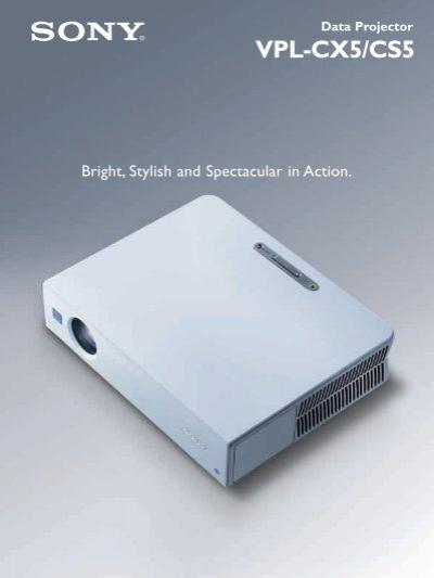 vpl cx5 cs5 video projector lcd projector dlp projector rh yumpu com sony vpl-cx5 manual