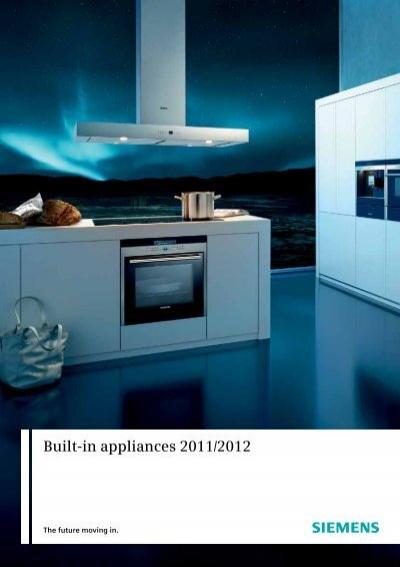 built in appliances 2011 2012 siemens home appliances. Black Bedroom Furniture Sets. Home Design Ideas