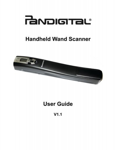 handheld wand scanner user guide qvc com rh yumpu com pandigital panscn08 handheld wand scanner manual pandigital panscn08 handheld wand scanner manual