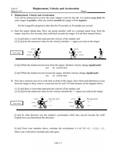 Worksheets Displacement And Velocity Worksheet collection of displacement velocity and acceleration worksheet worksheet
