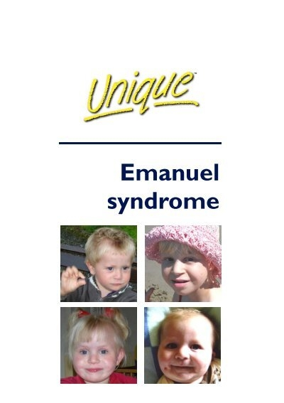 Jacobsen Syndrome Brochure