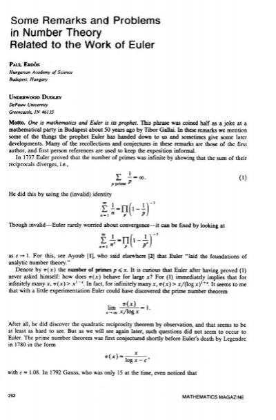 Some Remarks and Problems in Number Theory Related to the