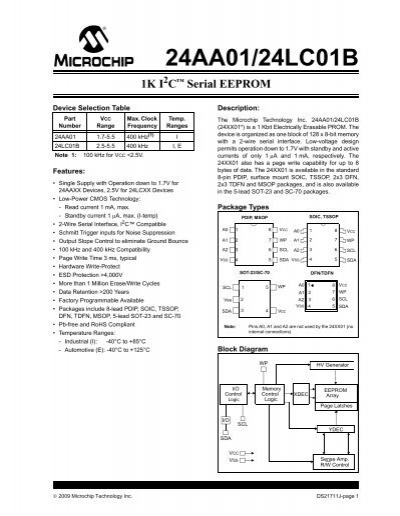 24LC256-I//P Eeprom 256Kbit I2C DIP-8 Microchip Rohs Set Aus 8