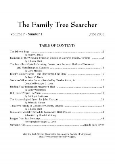 The Family Tree Searcher Rootsweb Ancestry Com