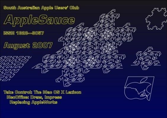 Applesauce August 2007 South Australian Apple Users Club