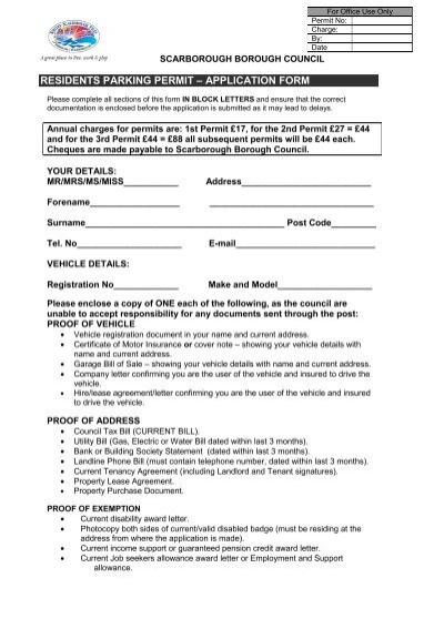 Form C - Application for Residence Permit submitted by a non-EU ...