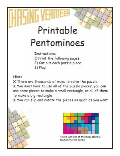 graphic about Pentominoes Printable identify Printable Pentominoes - Scholastic