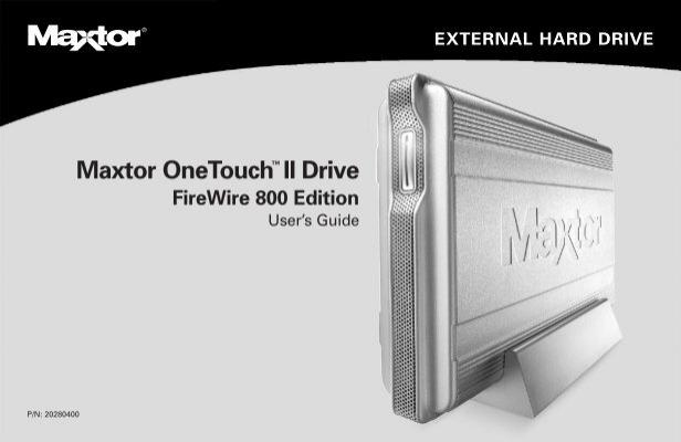 maxtor onetouch ii drive seagate rh yumpu com Maxtor OneTouch 4 Mini Installation maxtor onetouch 4 manual