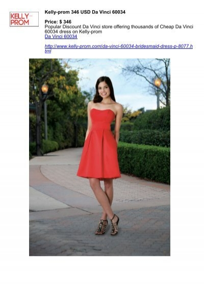 Kelly-prom 346 USD Da Vinci 60034