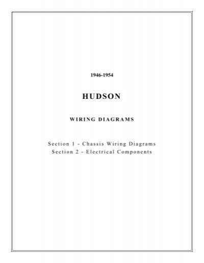 1946 1954 hudson wiring diagrams rh yumpu com Simple Wiring Diagrams Basic Electrical Schematic Diagrams