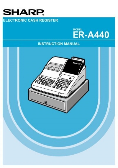 sharp electronic cash register user guide product user guide rh repairmanualonline today sharp cash register xe-a203 user manual sharp cash register xe-a203 user manual