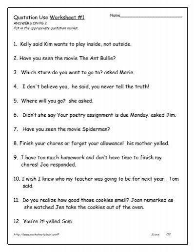 using quotes in essays worksheet Direct quotes are also useful for writing famous sayings or quotes from famous figures for example, it would be a good idea to directly quote parts of martin luther king jr's famous 'i have a dream' speech since many of the quotes from that speech are memorably worded.
