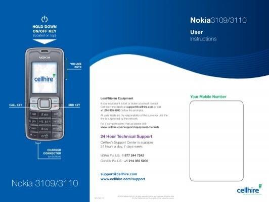 Memory full | nokia 3109 classic.