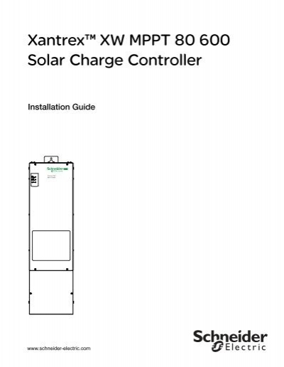 Xantrex Charge Controller Wiring Diagram on