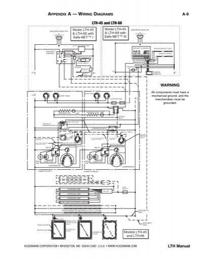 hussmann switch wiring diagram