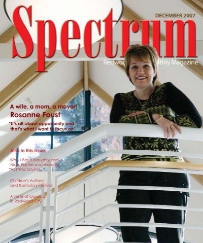 rosanne foust the spectrum magazine redwood citys monthly