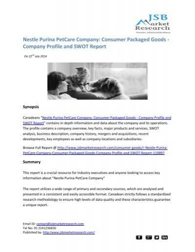 swot analysis of nestle company