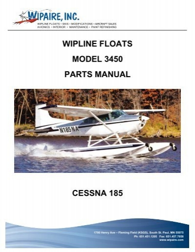Model 3450 Parts Manual - Wipaire Inc
