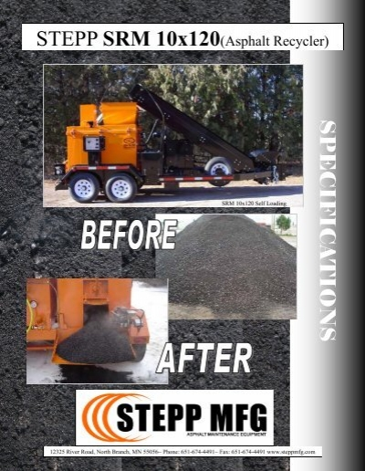 Full Specifications - Stepp Manufacturing
