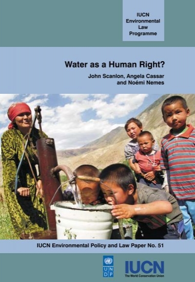is water a human right Is water a free and basic human right, or should all the water on the planet belong to major corporations and be treated as a product should the poor who cannot afford to pay these.