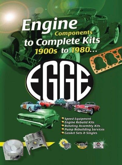 Oldsmobile Olds 324 engine kit rering 1954 55 gaskets rod main bearings rings 88