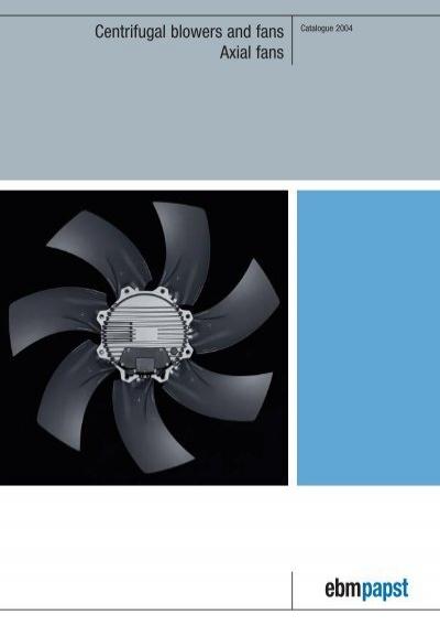 EBM-PAPST W2E143-AB15-06 AC Fans AC AXIAL Fan