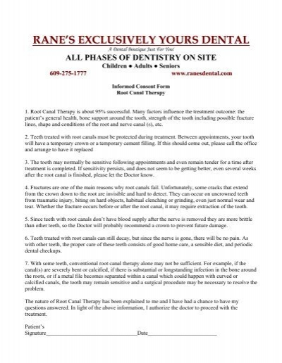 Download a Dental Cruiser Consent Form Marys Center – Dental Consent Form
