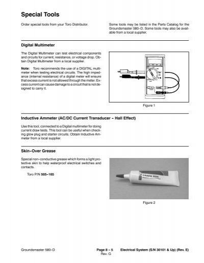 wiring diagram console g rh yumpu com Toro Groundsmaster Parts Toro 580D Salvage
