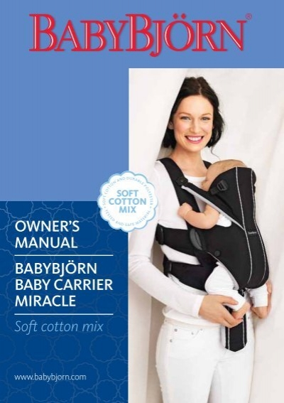 owner s manual babybj rn baby carrier nct shop rh yumpu com baby bjorn manual pdf babybjorn baby carrier manual