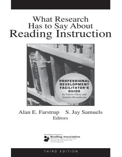 What Research Has To Say About Reading Instruction International