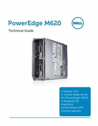 Dell poweredge m620 technical guide | solid state drive | office.
