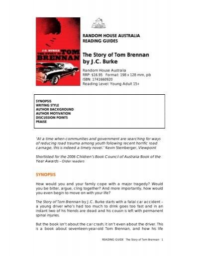 the story of tom brennan by j c burke good reading magazine rh yumpu com Tom Brennan Actor Montclair NJ Tom Brennan Actor Montclair NJ