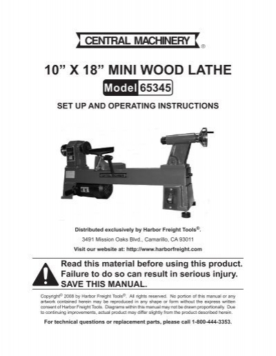 """**NEW Replacement BELT** Central Machinery 10/"""" X 18/"""" Wood Lathe"""