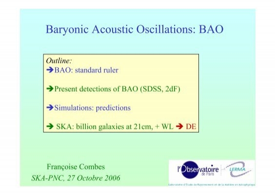 Baryonic Acoustic Oscillations: BAO
