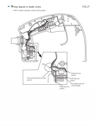 wiring diagram in handle