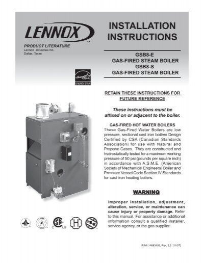 lennox steam boiler. lennox steam boiler v