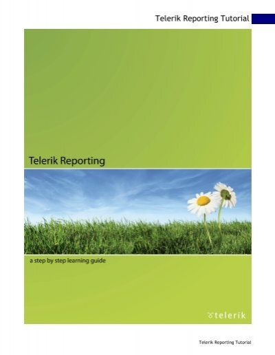 report book telerik To configure a reportviewer control for remote processing, specify a server report to use with the controls in visual studio in sql server books.