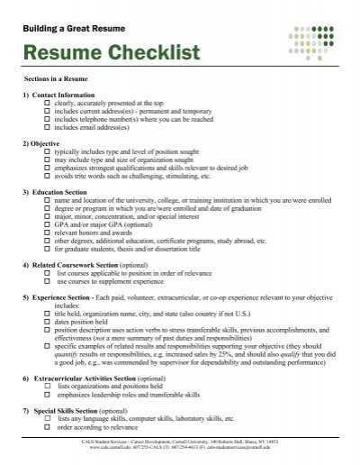 resume critique checklist valuebook co