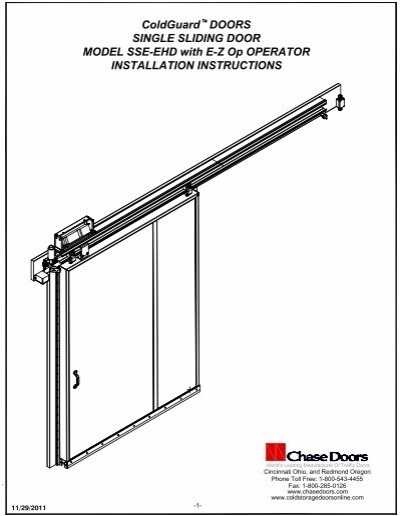 Thermaglide installation manual cardale garage doors.