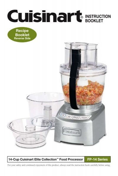 14 cup elite food processor instruction recipe cuisinart forumfinder Image collections