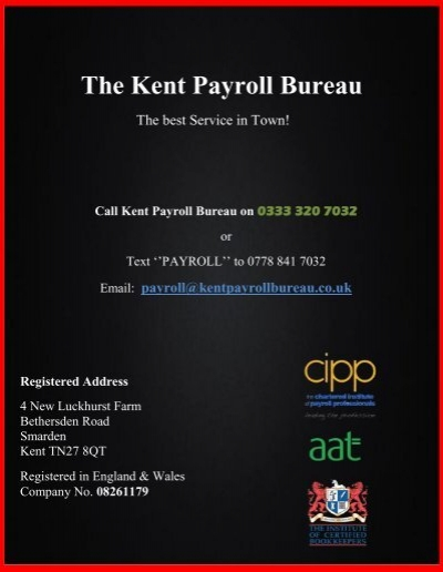 the kent payroll bureau. Black Bedroom Furniture Sets. Home Design Ideas