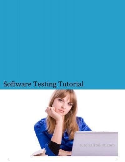 Download Software Testing Tutorial Pdf Version Tutorials Point