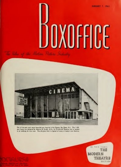 Boxoffice January 07 1963