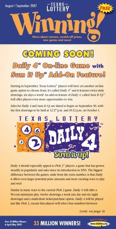 Lottery Numbers For Friday Night