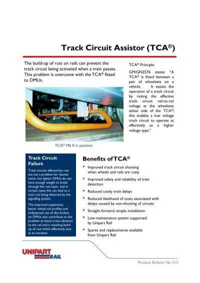 Track Circuit Assistor (TCA®) - Unipart Rail
